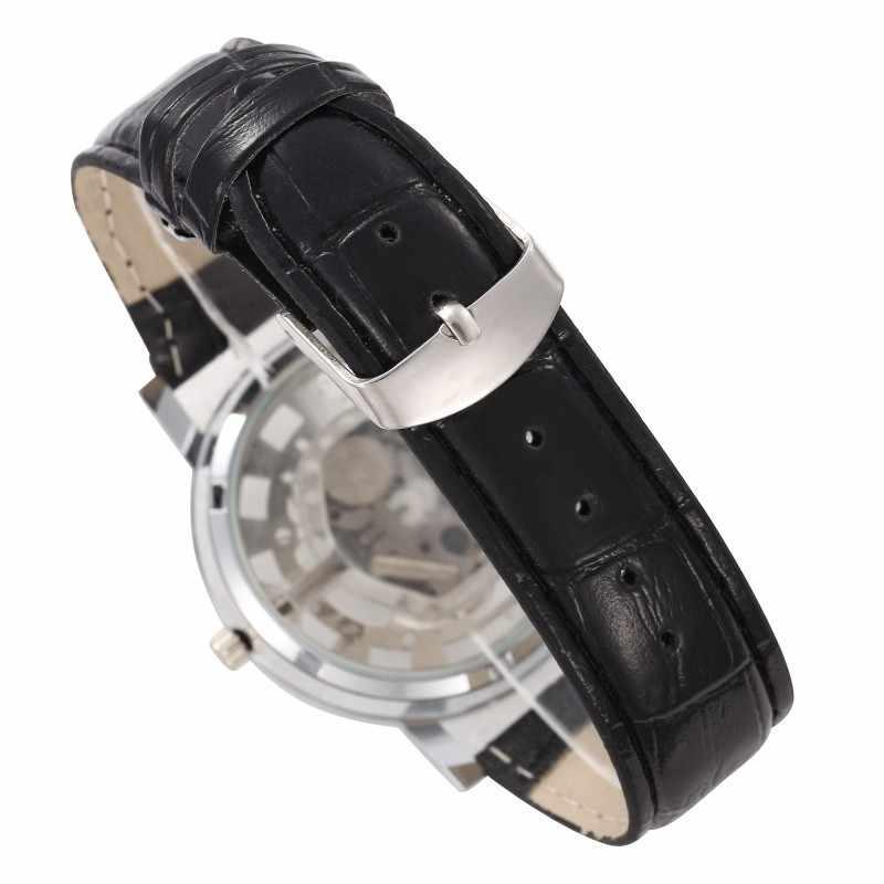 Relogio رجل ساعة 2019 نيبوسي الأعمال ساعة جلد بو للرجال مع الجوف سبيكة كوارتز Wirst ساعة ساعة Montres أوم Smael