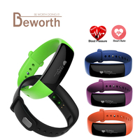 M88 Smart Band Blood Pressure Heart Rate Monitor Bracelet Sports Activity Tracker Fitness BP HR Smartband