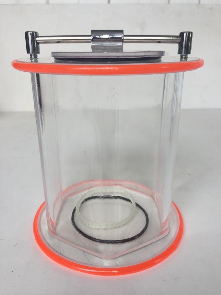 Nuovo! Secchio rotante per KT/KD-2000 rotary tumbler, con Lucidatura perline e in polvereNuovo! Secchio rotante per KT/KD-2000 rotary tumbler, con Lucidatura perline e in polvere