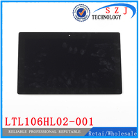 New 10 6 Inch For Microsoft Surface RT 2 RT2 LCD Display Panel Touch Screen LTL106HL02