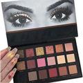 Más nuevos 18 Colores Paleta de Sombra de ojos Cálidos de La Tierra Color Shimmer Mate Sombra de Ojos Cosmética Maquillaje Set 01 # GB