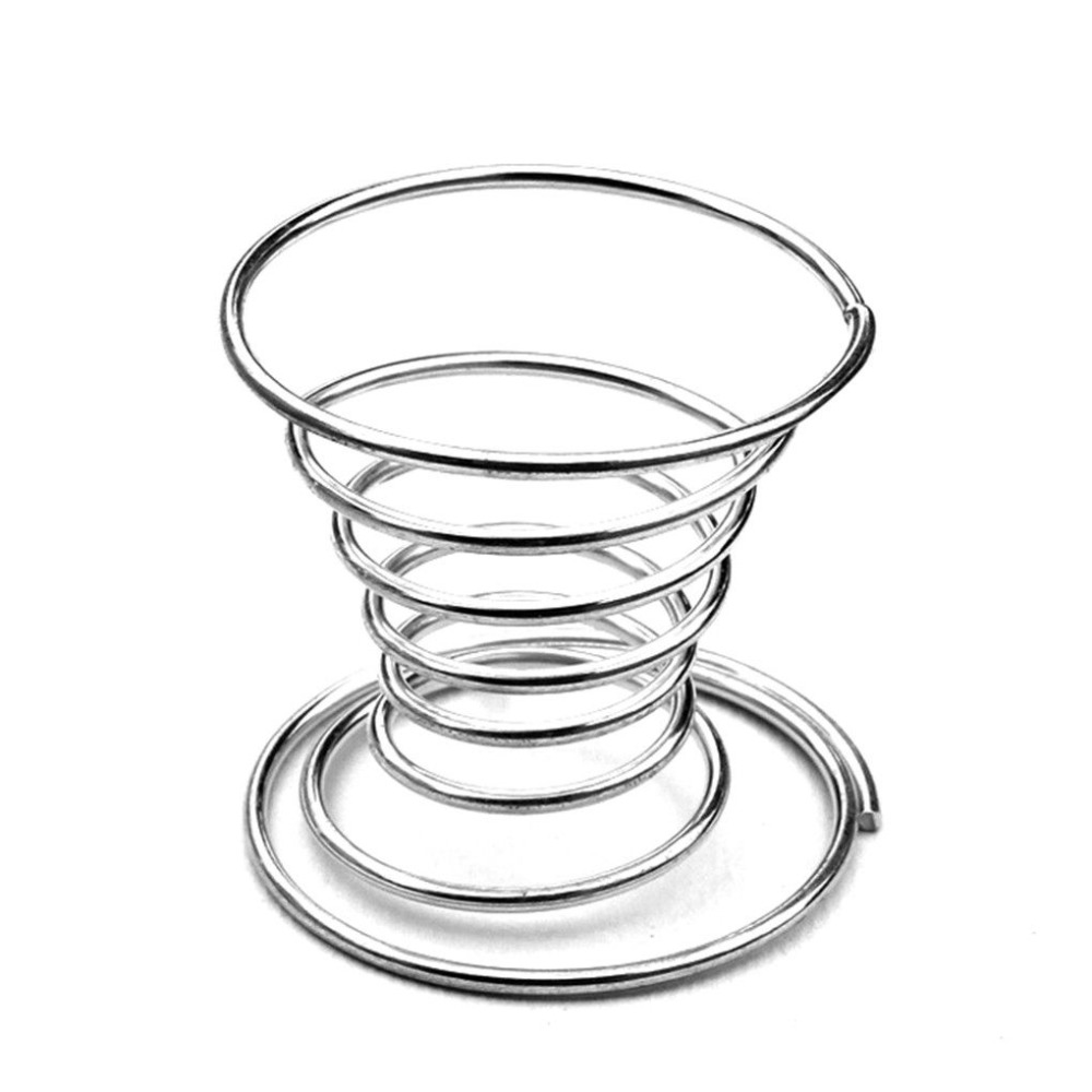 Новая нержавеющая стальная пружинная проволока лоток подставки для вареных яиц держатель Подставка для хранения новых яиц чашки для завтрака, для кухни