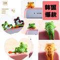 2PCS Green Frog PVC Charm headphone Earphone Jack anti dust plug Stopper Cap for iphone samsung lg huawei meizu Smartphone 3.5mm
