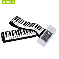High Quality Electrical Roll Up Piano With Environmental Friendly Material To Prvode Best Piano To You