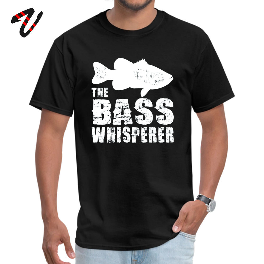 Bass Whisperer Fitness Tight <font><b>T</b></font>-<font><b>Shirt</b></font> for Boys Pure Cotton Autumn Men <font><b>T</b></font> <font><b>Shirt</b></font> comfortable Tee-<font><b>Shirts</b></font> Religion <font><b>Israel</b></font> Funky Tshirt image
