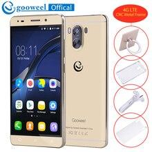Nouveau Gooweel G9 4G Smartphone Android 7.0 MTK6737 Quad core 64bit 5.5 pouces IPS Écran mobile téléphone 2800 mAh 13MP + 8MP GPS Cellulaire téléphone