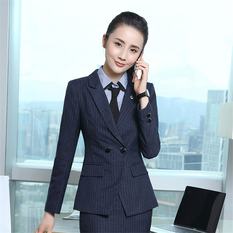 687d481de349a ummer Formal Professional Business Women Suits With Jackets And Pants  Female Trousers Sets Summer Blazers Outfits