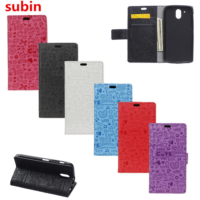 Hot Selling For HTC Desire 526 Cartoon Case Wallet Style PU Leather Phone Cover For HTC Desire 526 526G 526G+ dual sim