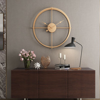 2019 Brief 3d European Style Silent Watch Wall Clock Modern Design For Home Office Decorative Hanging Clocks Wall Home Decor