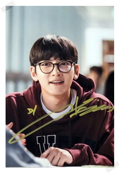 signed Ji Chang Wook autographed original photo  6 inches free shipping 082017C signed snsd yoona autographed original photo holiday night 6 inches 56versions free shipping 082017