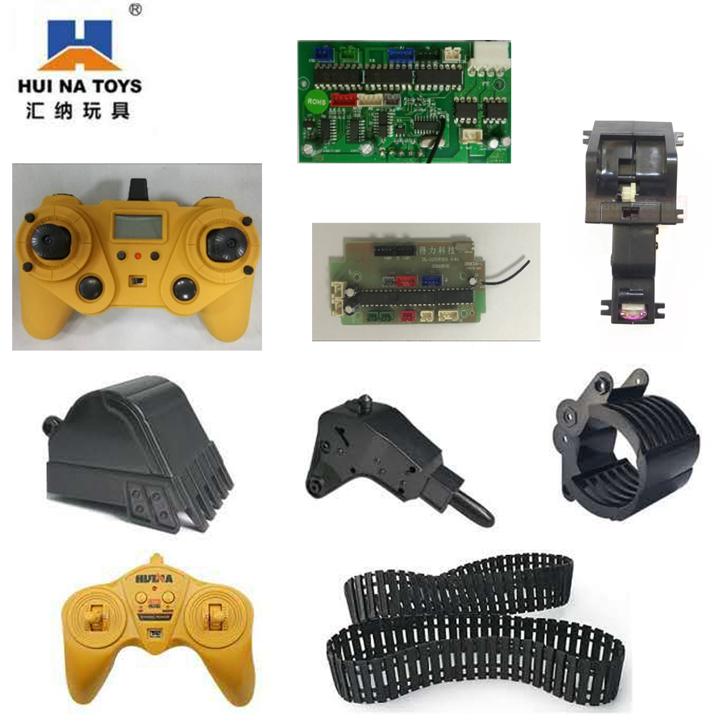 HUINA engineering vehicle ten channel fifteen channel original metal remote control font b motherboard b font