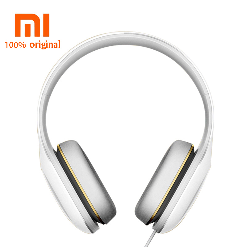 5e841c828c8 Original Xiaomi Headphone Headset With Mic Wired 3.5mm Stereo Simple  Edition Button Control Music Hifi Earphone-in Earphones & Headphones from  Consumer ...