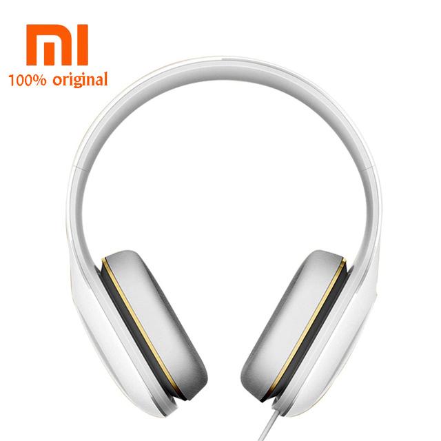 Xiaomi originais fone de ouvido fone de ouvido com microfone com fio 3.5mm estéreo edição simples botão de controle do fone de ouvido de alta fidelidade da música