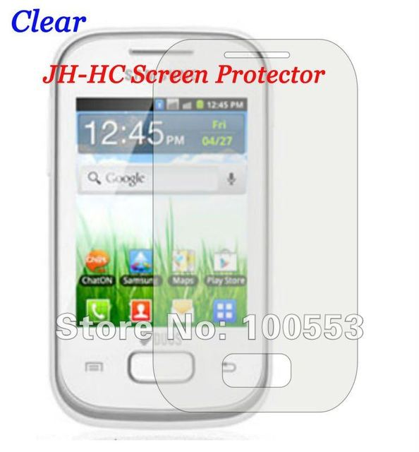 clear jh hc screen protector samsung gt s5302 screen protector for rh aliexpress com Samsung Instruction Manual Samsung Rugby