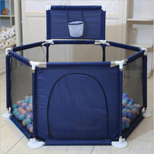Baby Playpen Soft Baby Game Fence Crawl Guardrail Safe Hurdles Children Portable Plastic Fencing for Children Gift Activity Gear недорого