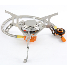 Mini Lightweight camping stoves portable folding gas stove cooking picnic split stoves with piezo ignition mini camping automatic ignition stove portable electronic ignition fogao cooker outdoor cooking camp gaz kamp ocak