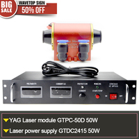 LASER DIODE GTPC 50D LASER POWER BOX GTPC 2420 50W