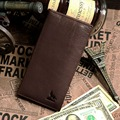 J.M.D Free Shipping Vintage Leather Wallets Business Card Holder 8015-1C