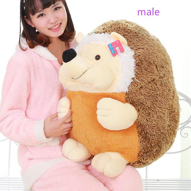 18-50cm Lover Howie Hedgehog Plush Stuffed Animal Toy Doll Soft Good Quality Kid Birthday Gift Girl Free Shipping Good Service