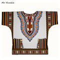 Band Mr Hunkle Plus SizeXXL, XXXL Dashiki Dress 100% Cotton African Traditional Print White Dashiki Clothing for Men Women
