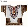 Banda Mr Hunkle Plus SizeXXL, XXXL Vestido Dashiki Africano 100% Algodón de Impresión Tradicional Blanco Dashiki Ropa para Hombres Mujeres