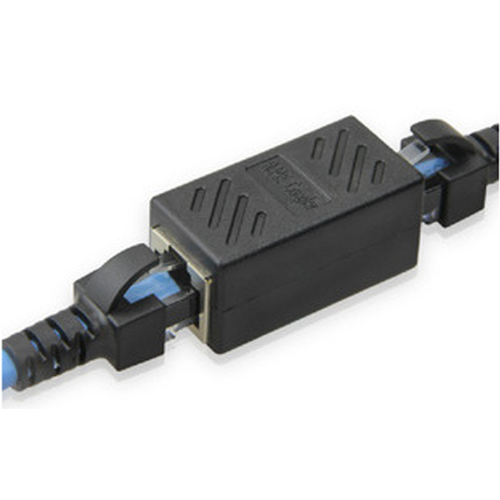 RJ45 Connector Network Extension Cable Adapter CAT6 Network Ethernet LAN Connector Adapter For Ethernet Cable Female To Female