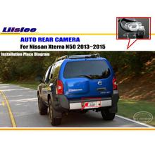 Liislee для Nissan Xterra N50 2013~-камера заднего вида/HD CCD RCA NTST PAL/светильник для номерного знака OEM