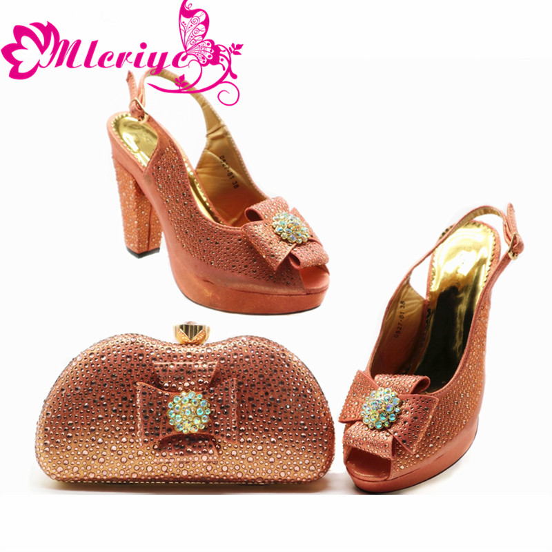 Italian Shoes with Matching Bags High Quality Nigerian Women Party Pumps Wedding Shoe and Bag Sets Italian Elegant Pointed ToeItalian Shoes with Matching Bags High Quality Nigerian Women Party Pumps Wedding Shoe and Bag Sets Italian Elegant Pointed Toe