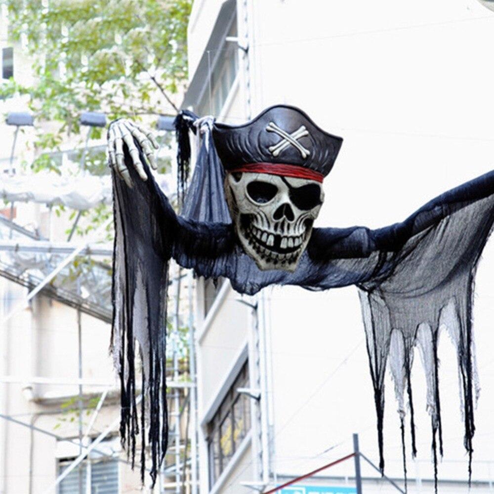 Novelty Gothic Halloween Creepy Gauze Cloth Door House