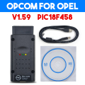 OP COM OPCOM OPEL V1.59 with PIC18F458 OP-COM obd2 opel scanner Micro chip diagnostic v2012 car scanner OBD2 scanner for Opel