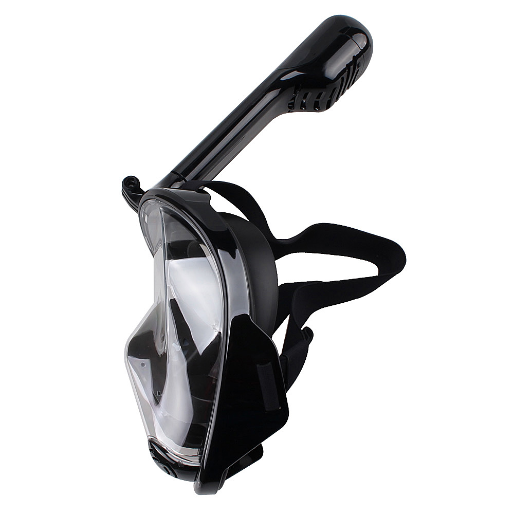 Underwater Diving Mask Snorkel Set Swimming Training Scuba Mergulho Full Face Snorkeling Mask Anti Fog Gopro Camera Dropshipping 4 colors adult half dry snorkel easy breath free spearfishing scuba diving mask underwater snorkeling set diving equipment