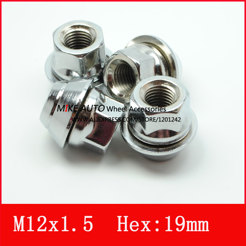 4pcs Opened M12x15 Pcd Wheel Lug Nut Hex193 4 For Ford Mondeo