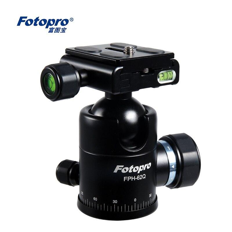 bilder für Fotopro FPH-62Q Aluminium-magnesium-legierung Sphärische Panoramakopf Für Stativ Einbeinstativ/Geeignet für telelens/Großhandel