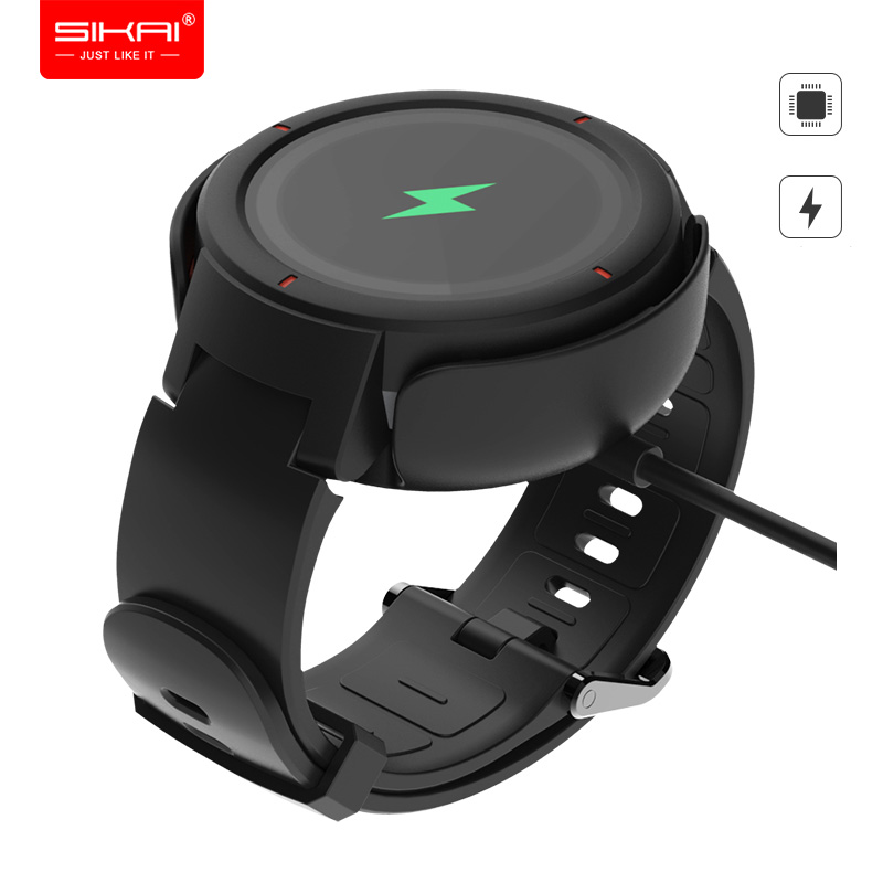 Chargers For Amazfit Verge Huami 3 Lite SIKAI Replacement Charging Dock Smart Watch Station