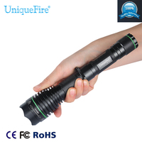 Hunting Flashlight Uniquefire 1508 38mm 940NM IR Led Zoomable 3 Modes Lamp Troch Professional For Night Hunting Free Shipping