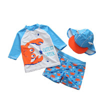 2019 Boy Summer Swimsuit for Baby Swimwear Children Beach Wear Bathing Suit 3pcs Swimming Beachwear