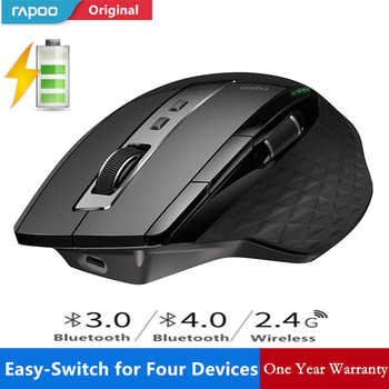 New Rapoo MT750S Rechargeable Multi-mode Wireless Mouse Switch between Bluetooth 3.0/4.0 and 2.4G for Four Devices Connection - DISCOUNT ITEM  49 OFF Computer & Office