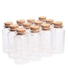 2 шт 30*60 мм 25 мл стеклянные бутылки желая бутылка пустые образцы баночки с пробкой Пробки Свадебные украшения бутылки стекло