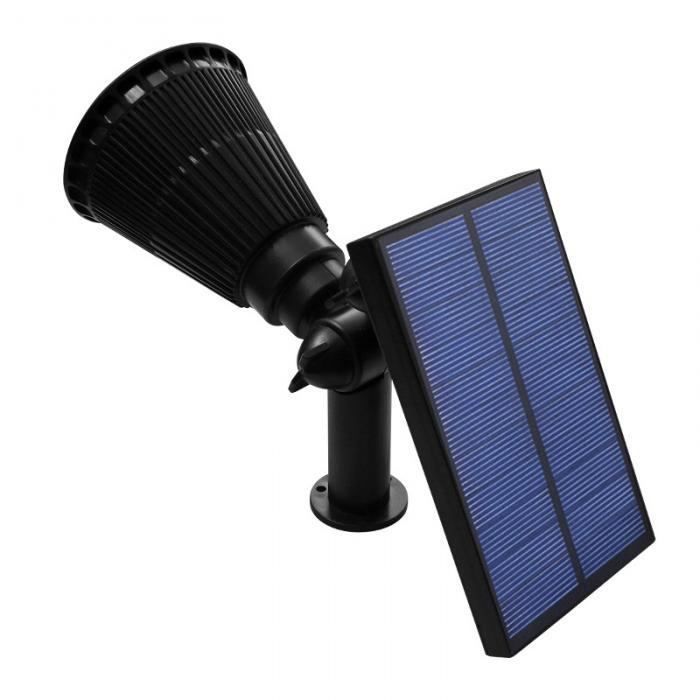 1 pçs nova chegada 7 led solar