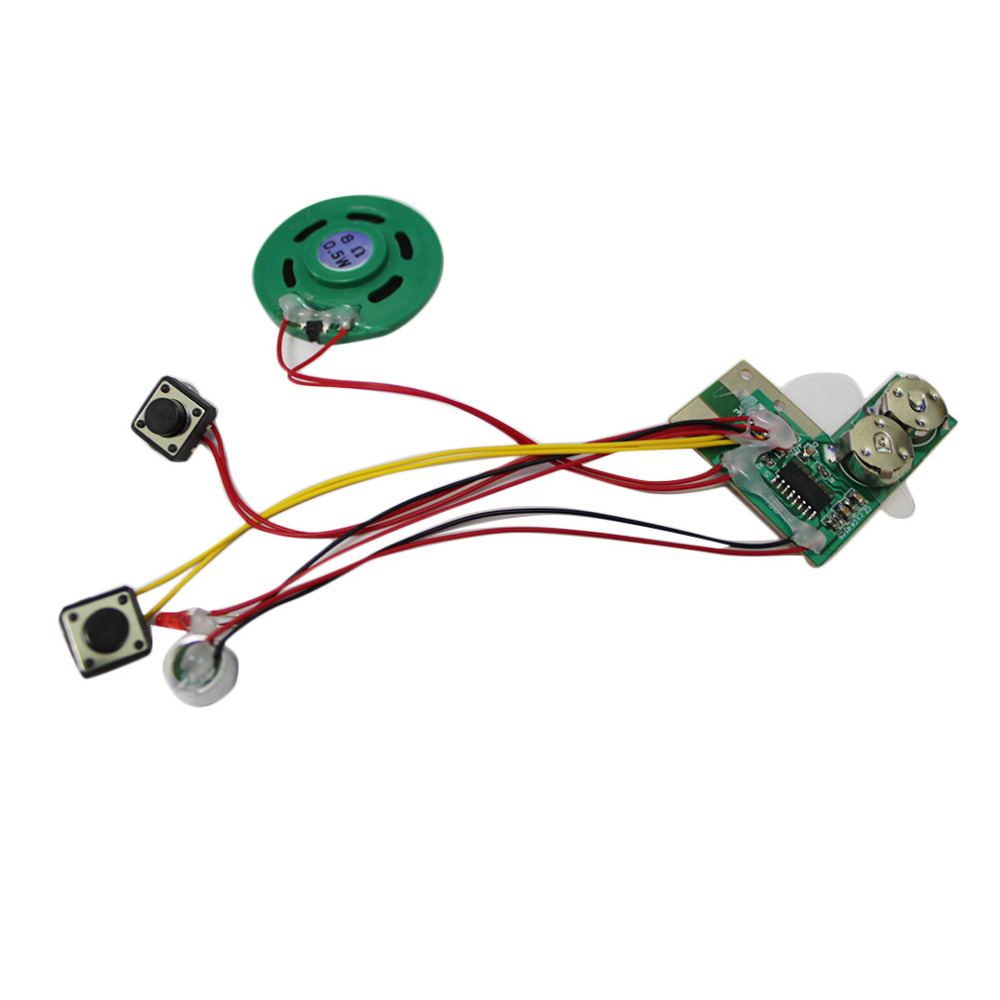 Recordable Voice Module For Greeting Card Music Sound Talk Chip