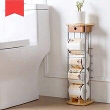 Полотенца стойки для ванной поворотный держатель рулона гостиная рулон полки напольная подставка бумаги стоек
