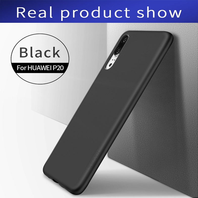 for Huawei P20 Coque Frosted Silicone Case X-Level Guardian Soft Matte TPU Case for Huawei P20 Dual Sim Back Cover Ultra thin
