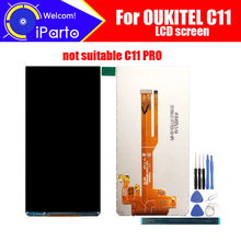5.5 inch OUKITEL C11 LCD Screen Display Original New Tested Top Quality Replacement LCD Display For OUKITEL C11+tools+adhesive