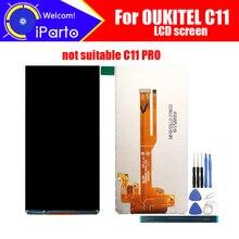 5.5 polegada oukitel c11 display lcd de tela original novo testado qualidade superior substituição display lcd para oukitel c11 + ferramentas adesivo