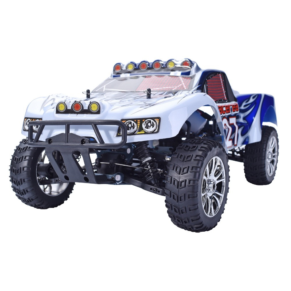 HSP 94763 Rc Car 1/8 Nitro ADVANCED Car 4wd Off Road Rally Short Course Truck RTR Similar REDCAT HIMOTO Racing car P2 02023 clutch bell double gears 19t 24t for rc hsp 1 10th 4wd on road off road car truck silver