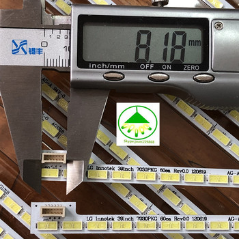 "100% New 10 PCS/lot 60LED 487mm LED backlight strip for 39""TV LG Innotek 39inch 7030PKG 60ea T390HVN01.0 73.39T03.003-0-JS1"