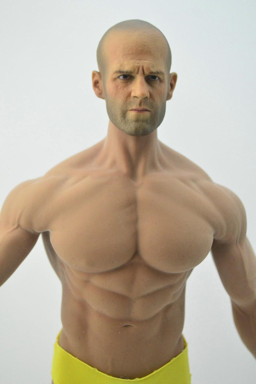 Bricolage 1/6 échelle Jason statham figurine tête Phicen