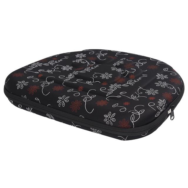 Vsen dobrável pet carrier dog cat saco de viagem dobrável saco alça de ombro bolsa saco de viagem padrão de coração-em forma de gráfico