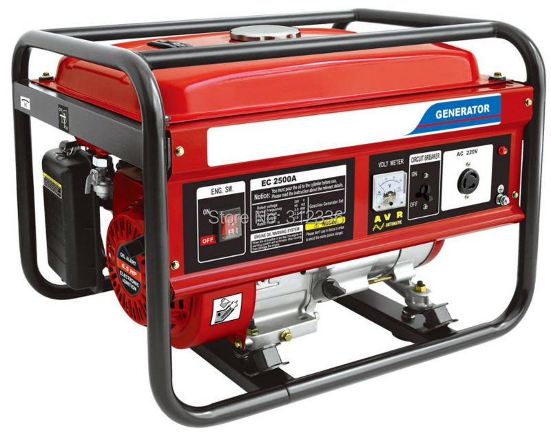 Sea shipping portable generator 2500 2kw 168F GX200 Recoil starting OHV 6.5hp  single phase 220V 50Hz