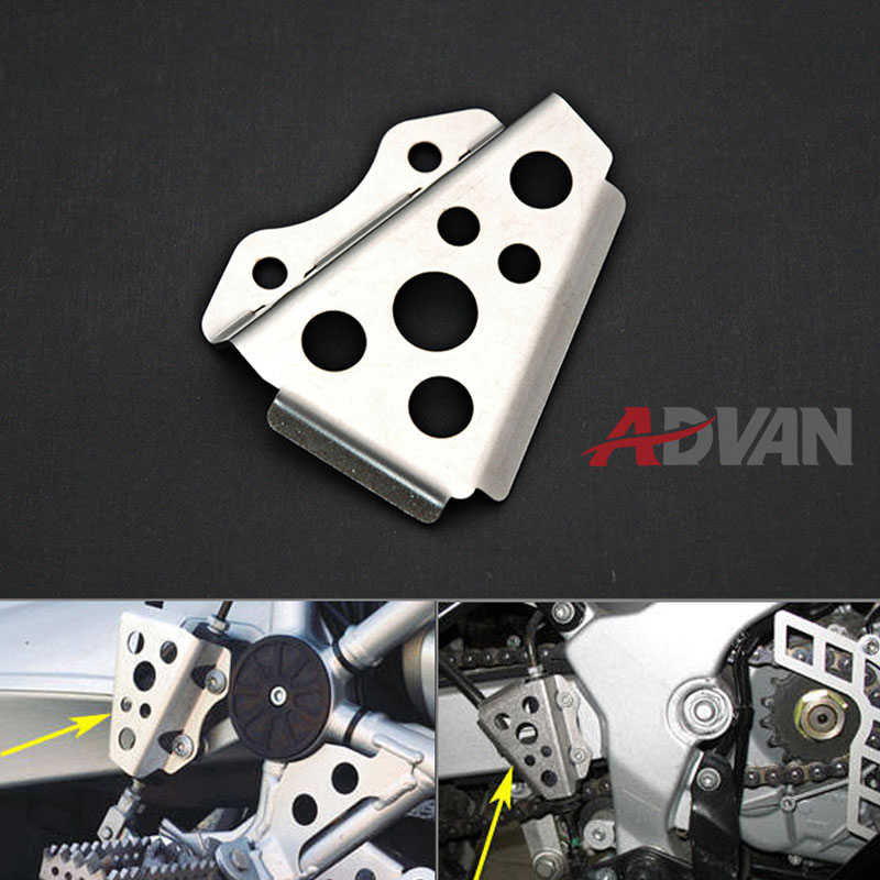 Rear Brake Master Cylinder Guard FOR BMW R1200GS, F650GS ,G650GS Dakar Sertao TR650